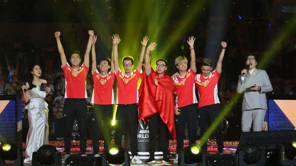 Arena of Valor World Cup 2019 AWC 2019 Team Flash