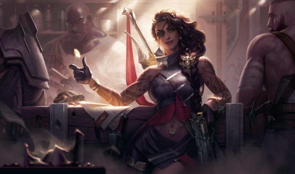 League of Legends champion Samira