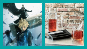 Final Fantasy VII, Sephiroth, Cloud, Buster Sword ice tray