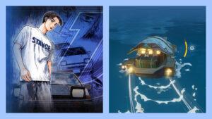Genshin Impact, Deja Vu, Initial D, Anime