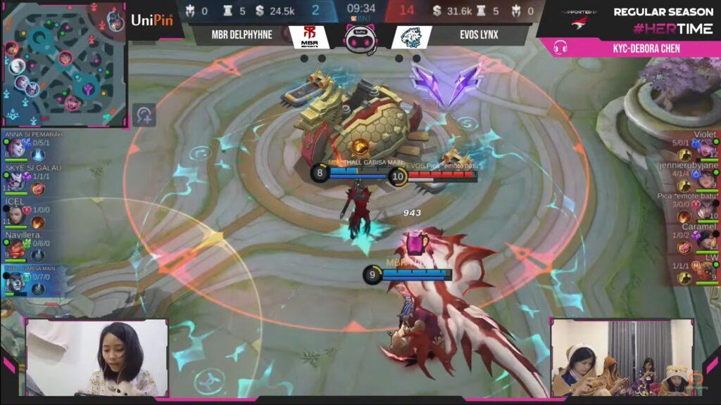 Evos Lynx Pica on Yu Zhong countering the Bane, Faramis, and Selena turret push strategy