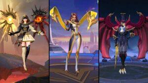Mobile Legends: Bang Bang skins in patch 1.5.88, Eyes of Eternity Lunox, The Foreseer Esmeralda, Crow Magician Kaja