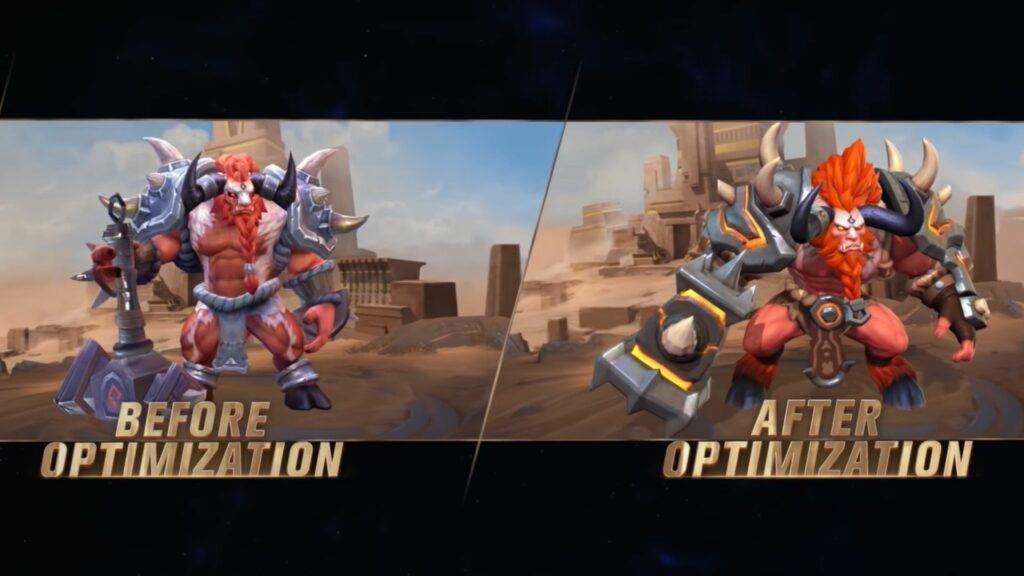 Mobile Legends: Bang Bang revamped Minotaur for Project NEXT 2021