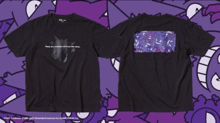 Uniqlo UT, Pokemon All-Stars, Gengar shirt