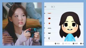 Twice, Nintendo Switch, Miitopia, Nayeon, bunny teeth