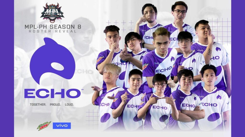 Aura PH rebrands to Echo for MPL PH S8