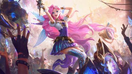 League of Legends support champion Seraphine