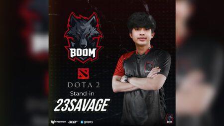 BOOM Esports, 23savage, Dota2
