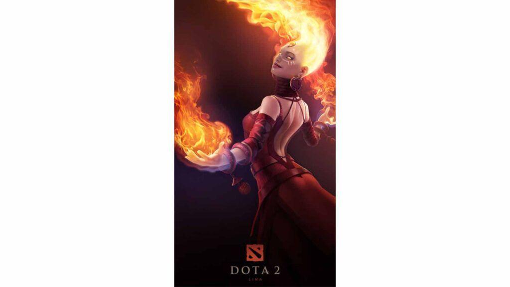 Dota 2, Valve, Lina