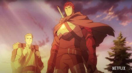 Dota 2, Dragon Knight, Dota: Dragon Blood, anime, Netflix