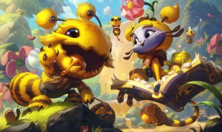 League of Legends, Yuubee, Bee'Maw, Yuumi, Kog'Maw