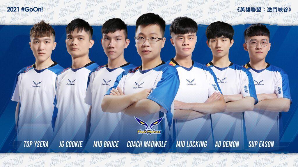 League of Legends: Wild Rift, Flash Wolves, Taiwan
